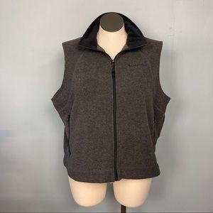 Columbia Sportswear Company Gray Fleece Vest